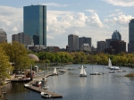 De Back Bay omgeving van Boston.