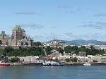 De stad Quebec is de hoofdstad van de Canadese gelijknamige provincie. De stad ligt aan de oever van de Saint Lawrencerivier.