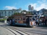 De Kabeltram van San Francisco is de laatste handbediende kabeltram die nog in gebruik is.
