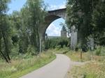 Het spoorwegviaduct van Born waarover de militaire  Vennbahn L47A naar Vielsalm reed.