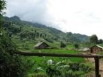 Wandeling in dorp Cat Cat (Zwarte Hmong stam - Sapa)