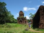Ruïnes van de Cham tempels (My Son)