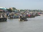 Drijvende markt van Cai Rang (Can Tho)