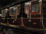 Het NRM huisvest meer dan 100 locomotieven en 200 rijtuigen. Hier het salonrijtuig uit 1840 van Adelheid van Saksen-Meiningen.