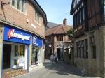 Finkle Street. Mogelijks is de naam afgeleid van het Duits Winkel, wat hoek betekent.