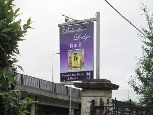 Belvedere Lodge B&B even buiten het centrum van Cork.