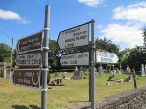 Oude begraafplaats in Ballyfeard.