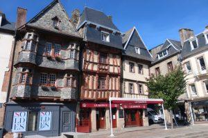 Vakwerkhuizen aan de Place Général Leclerc in Lannion