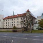 Het kasteel van Riga dient sinds jaar en dag als ambtzetel van de machthebbers van dat moment. Nu huist hier de Letse President.