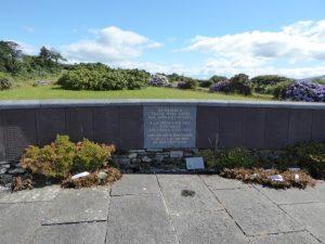 De Air Disaster Memorial in Akahista voor de 329 slachtoffers van Air India vlucht 192 die in 1985 bij een bomaanslag over zee om het leven kwamen.