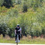 Hoe sterk is de eenzame fietster op weg naar de Grand Ballon.