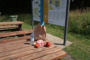 Picknick in Goedange met ons uitgebreid lunchpakket van het hotel in Sankt Vith.