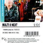 TEC bus kaart