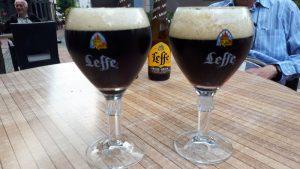 Deze lekkernij laten we ons smaken op het terras van hotel Koener (Clervaux).