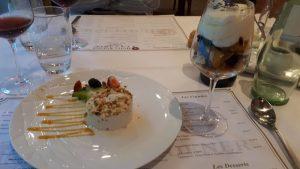 Afsluiter van een uitstekend diner in hotel Koener (Clervaux).