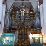 Het imposante orgel uit 1884 met zijn 6700 pijpen produceert een overweldigende klank. Orgelspelers van over de hele wereld geven hier concerten.