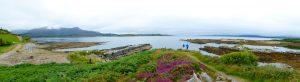Het prachtige panorama van Kilmakilloge.