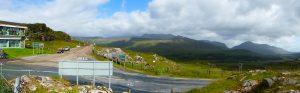 Moll's Gap (250 m) met op de achtergrond de bergen van Kerry.