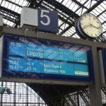 Wachten op de TGV naar huis; het is bijna voorbij :-(