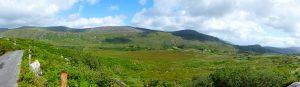 In de Black Valley kom je enkel weilanden met gehoornde schapen tegen. Hier heerst de stilte.