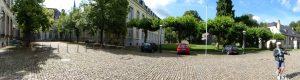 De voormalige Benedictijerabdij van Kornelimünster. Deze werd in de 18de eeuw gemodernisserd en bevat nu een museum voor moderne kunst.