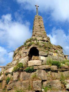 Calvarie monument in Le Bourg