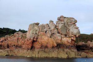 Heks langs de Côte de Granit Rose