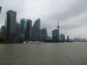 Boottocht op de Huangpu rivier (Shanghai)