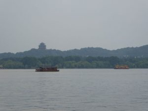 Boottocht op het Westmeer (Hangzhou)