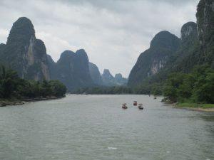 Boottocht op de Li rivier (Guilin - Yangshao)