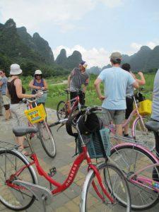 Fietstocht langs de Li rivier (Yangshao)