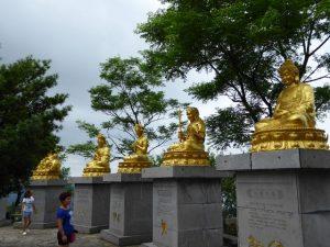 Godenbeelden op de Yao heuvel (Guilin)