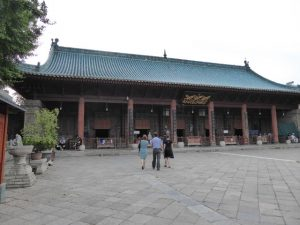Grote Moskee in de moslimwijk (Xi'an)