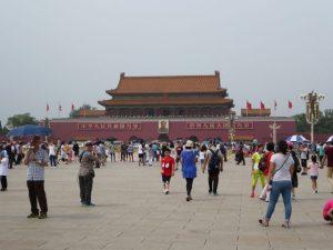 Tien'anmen poort naar de Verboden Stad (Beijing)