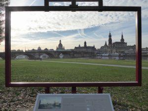 Het beroemde Canaletto zicht op Dresden.