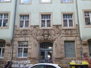 Het Jugendstil huis.