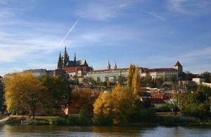 Praagse burcht aan de Moldau, Tsjechië