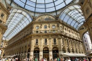 Galleria Vittorio Emanuele, de beroemdste overdekte winkelstraat van Milaan