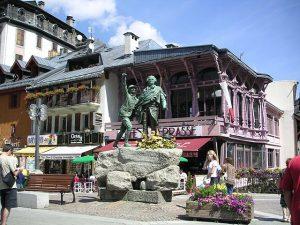 Centrum Chamonix, Frankrijk
