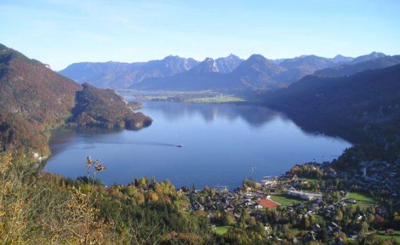 Wolfgangsee in Salzkammergut, Oostenrijk