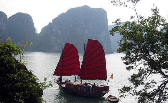 Halong baai, Vietnam