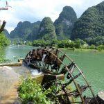 Karstheuvels langs de Li rivier in Yangshao